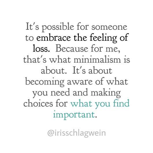 embrace loss